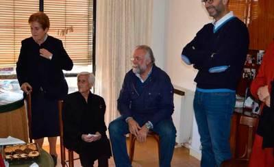 Ramos visita a la centenaria Felisa Horcajuelo Herrador