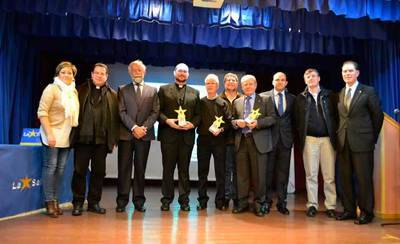 Jaime Ramos asiste a la entrega de los IX Premios 'Valoris'
