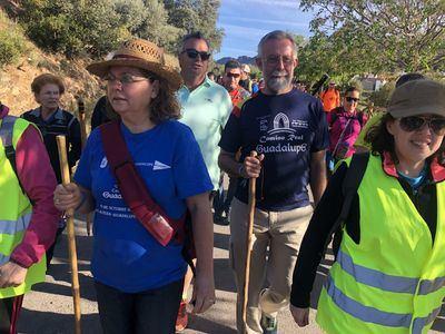 Talavera recorre la séptima y penúltima etapa del Camino Real de Guadalupe