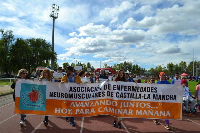 Talavera celebra la XII Carrera Solidaria de ASEM CLM 'Avanzando Juntos'