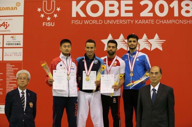 El talaverano Raúl Cuerva logra el bronce en el Campeonato del Mundo Universitario