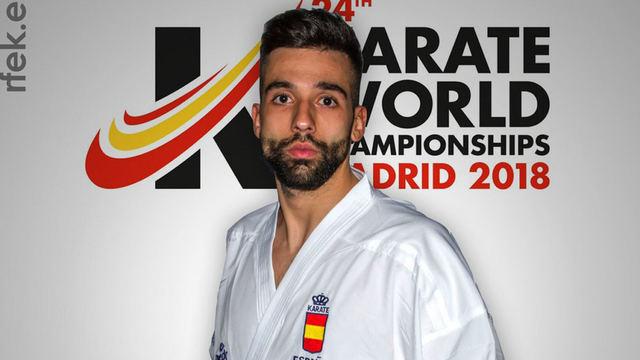 El karateka talaverano Raúl Cuerva, en contra de la eliminación de este deporte de los JJOO