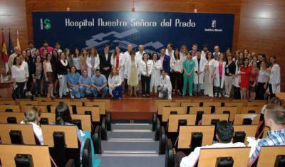 El Área Integrada de Talavera incorpora 24 nuevos residentes en formación