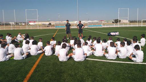 Imagen del Campus Experience Fundación Real Madrid Ébora Formación Cazalegas-Talavera
