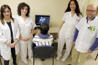 El servicio de Rehabilitación del hospital de Toledo emplea realidad virtual para recuperar movilidad de articulaciones