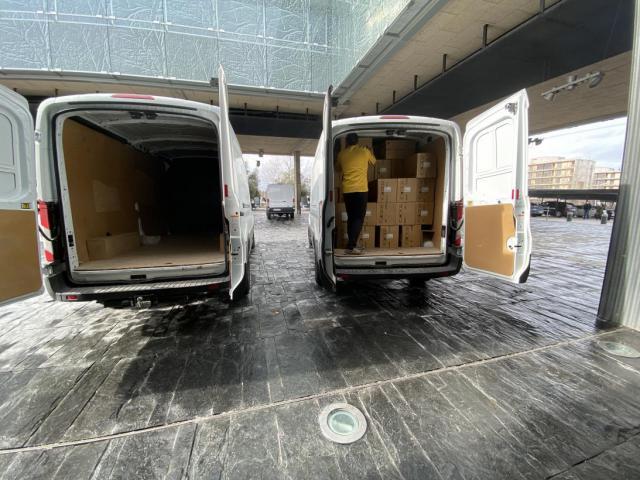COVID-19   CLM sigue repartiendo material sanitario