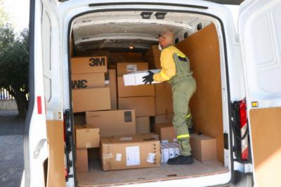 SANIDAD | CLM ha repartido esta semana más de 433.000 artículos de protección a los centros sanitarios
