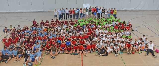 300 estudiantes de Talavera de la Reina participaron en una jornada deportiva histórica en la ciudad