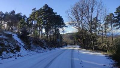TEMPORAL | Cortada la carretera de El Piélago entre El Real de San Vicente y Navamorcuende