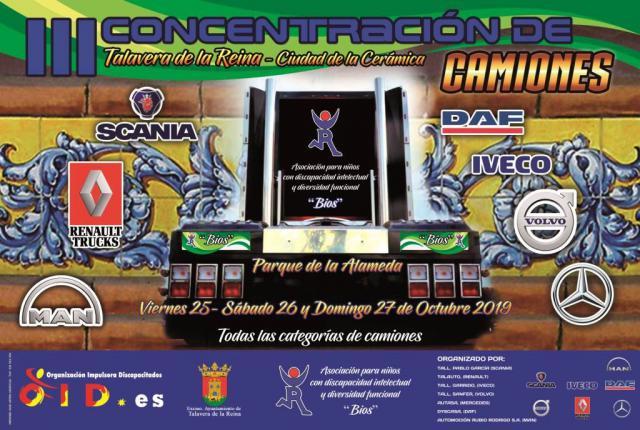 La III Concentración de Camiones de Talavera se celebrará este fin de semana