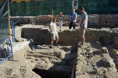 Piden conservar los restos mudéjares del solar del nuevo juzgado de Talavera