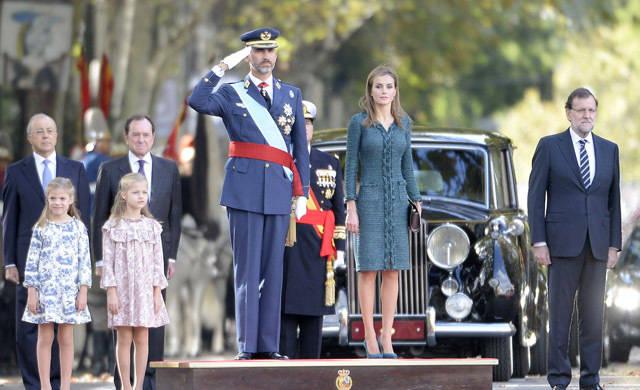 Los Reyes presidirán el Día de las Fuerzas Armadas en Guadalajara