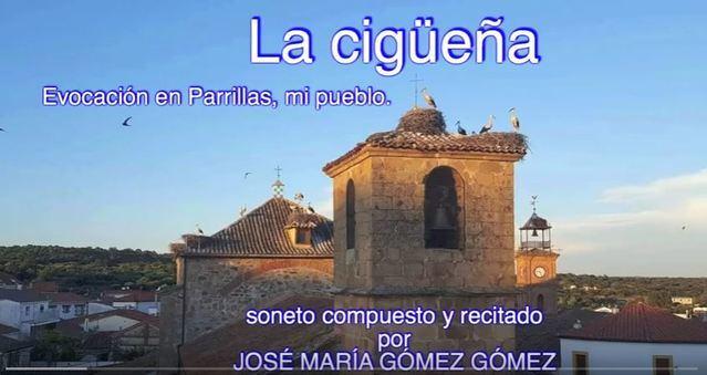 VIDEOPOEMA | Adiós a las cigüeñas por José María Gómez