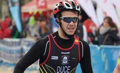 El talaverano RicardoDuce, tercero en el Ironman de As Pontes