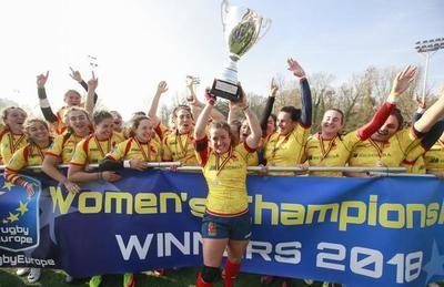 La talaverana Isabel Rico, campeona de Europa de Rugby