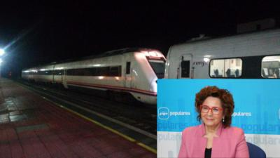 Recuerdan a Riolobos los años de 'inacción' respecto al tren por parte del Gobierno de Rajoy
