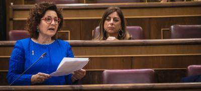 Garzón deja sin palabras a una diputada talaverana, Carmen Riolobos