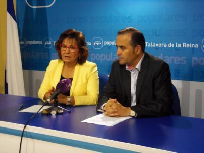 José Julián Gregorio, número uno al Senado y Carmen Riolobos, dos al Congreso por el PP en Toledo