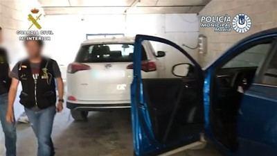 Desarticulado un grupo criminal relacionado con el robo de más de 1.000 vehículos distribuidos a toda Europa
