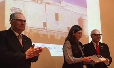 Rocío López consigue la medalla de las Cuatro Sinagogas de Jerusalén