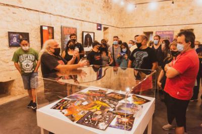 El 'Rock Musseum' de 'El Pirata' llega a Medina de Pomar