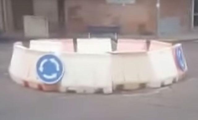 Comienzan las obras de la 'eterna rotonda' en Puerta de Cuartos