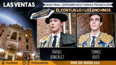 Un mano a mano entre Rafael González y Tomás Rufo