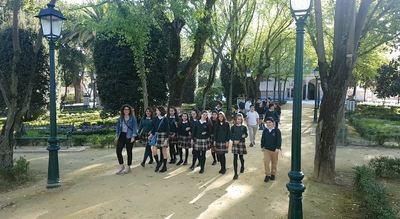 Los alumnos del colegio Ruiz de Luna enseñan a Europa los encantos de Talavera