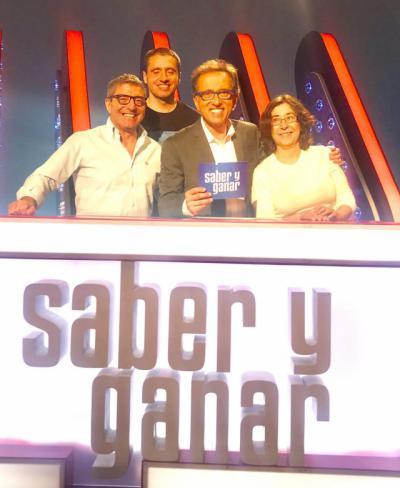 El talaverano Javier Salinas, concursante de 'Saber y Ganar'