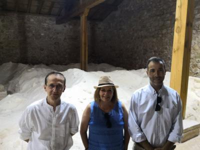 El Gobierno de Castilla-La Mancha respalda la recuperación del patrimonio de las salinas
