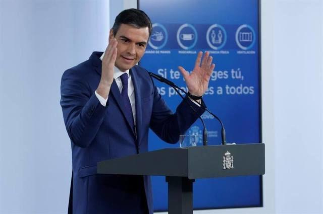 PANDEMIA | Sánchez avanza que 33 millones de españoles estarán vacunados a finales de agosto