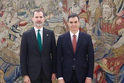Pedro Sánchez jura ante la Constitución como nuevo presidente del Gobierno