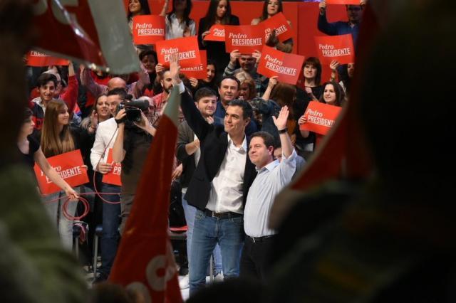 Sánchez, Rivera y Abascal en nuestra región.