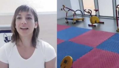 VÍDEO | Sandra Sánchez dona su premio para construir un gimnasio