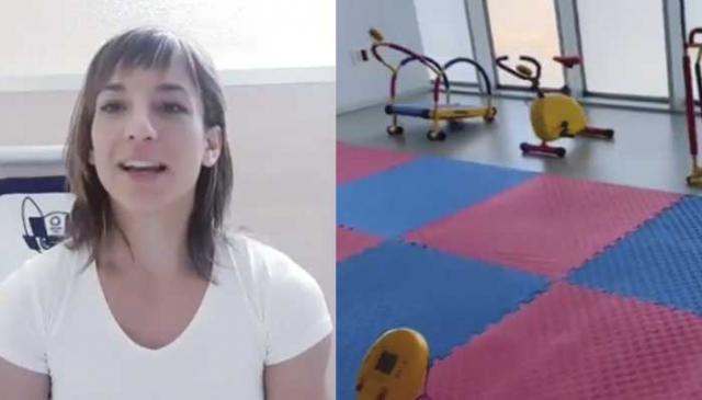 VÍDEO | Sandra Sánchez dona su premio para construir un gimnasio 'para los más pequeños' en el Hospital de Talavera