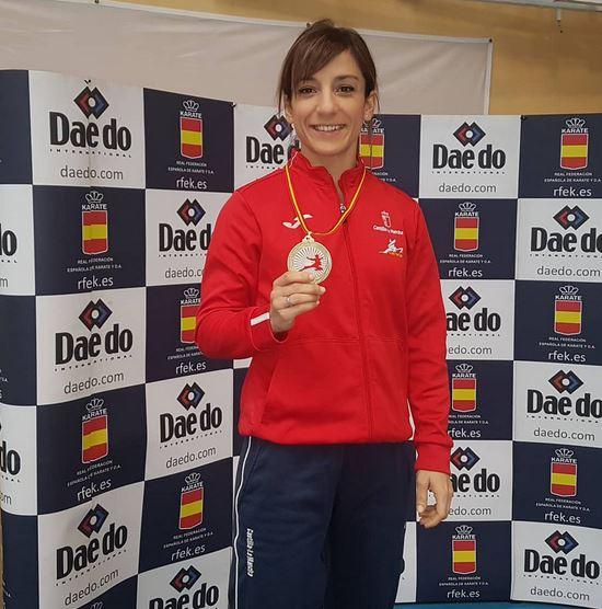 Sandra Sánchez vuelve a superarse al proclamarse de nuevo campeona de España de kárate