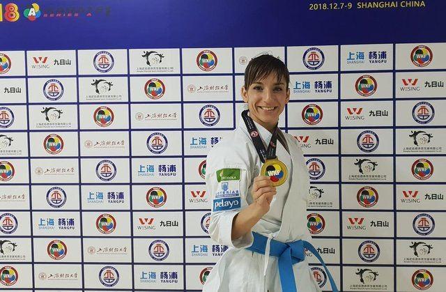 Sandra Sánchez consigue el oro, sumando así su medalla número 38