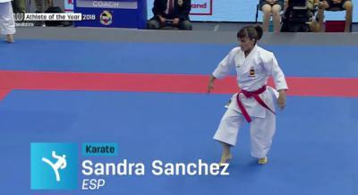 Sandra Sánchez suma y sigue: nominada a 'Atleta del Año' por los Juegos Mundiales
