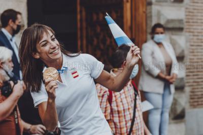 Sandra Sánchez celebra su 40 cumpleaños de una forma especial... con Buenafuente