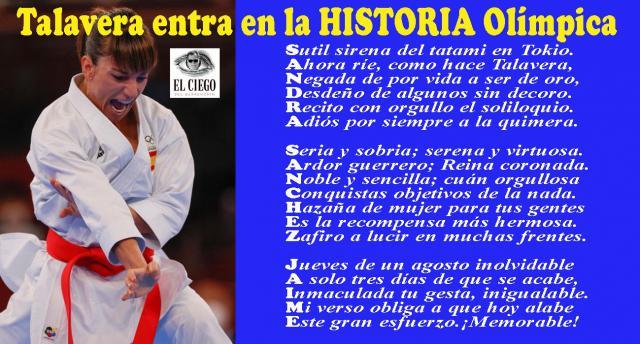 Talavera entra en la Historia olímpica