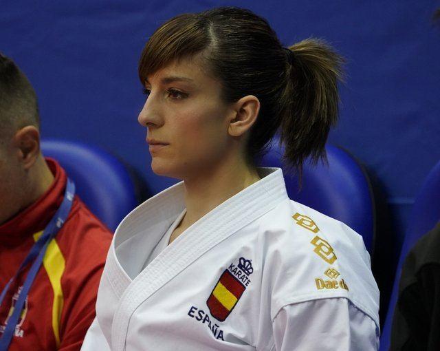 La karateka Sandra Sánchez luchará mañana por el oro en Chile