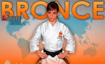 La talaverana Sandra Sánchez se cuelga el bronce Mundial en Linz