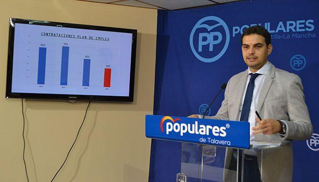 El PSOE pide a Serrano que deje portavocía de PP Talavera por su