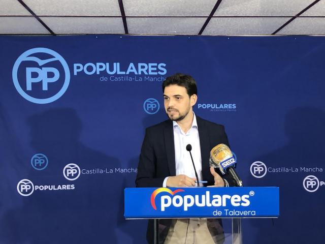 TALAVERA | Serrano: 'la ciudad tiene 900 parados más y cero nuevas empresas instaladas'