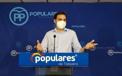 Santiago Serrano, presidente del PP Talavera