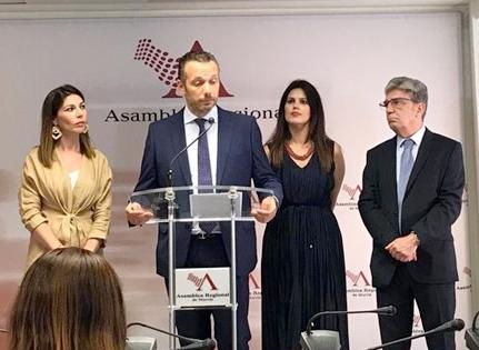 Joaquín Segado, vicesecretario de Comunicación del Partido Popular en la Región de Murcia y portavoz del Grupo Parlamentario del PP
