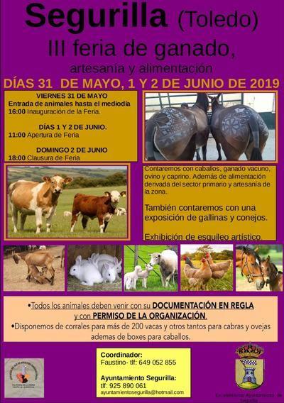 Segurilla celebra la III Feria de Ganado, Artesanía y Alimentación