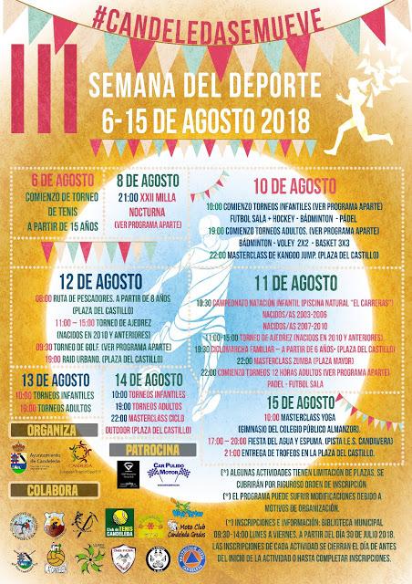 Candeleda cierra la Semana del Deporte con record de participación en 2018