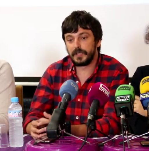 La militancia refrenda a Ortiz como candidato de Podemos Talavera a la Alcaldía