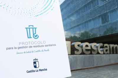 El SESCAM edita un nuevo protocolo de residuos sanitarios